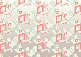 Isometric Vector Pattern