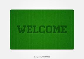 Free Welcome Doormat Vector