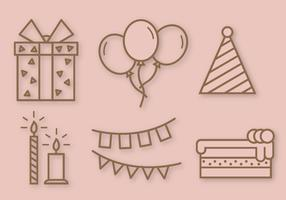 Free Birthday Party Vector