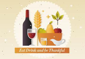 Free Thanksgiving Vector Illustration