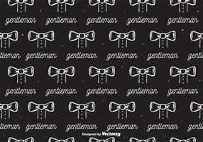 Gentleman Pattern Vector