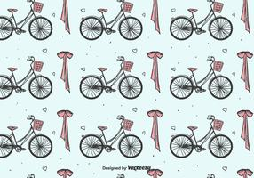 Bicycles And Bow Pattern