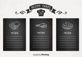 Vector Recipe Cards