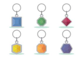 Key Holder Vector Set