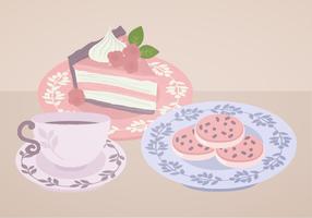 Vector Teacup Illustration