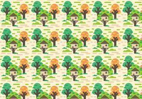 Free Tree House Vector