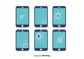 Broken Screen Vector
