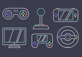 Free Video Game Vector
