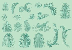 Thin Line Acanthus Decor