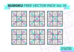 Sudoku Free Vector Pack Vol. 14