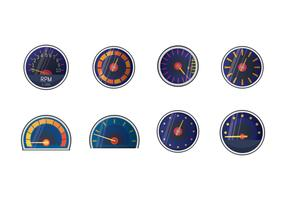 Free Tachometer Vector