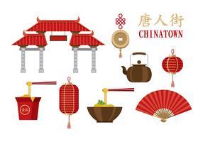 Chinatown Vectors