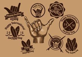 Shaka Vintage Label
