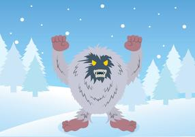 Free Yeti Illustration