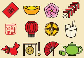 Cute Chinese Icons