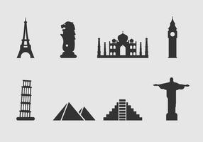 Free Landmark of The World Icon Vector
