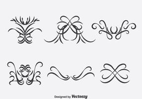 Vintage Decoration Collection Vector