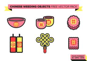 Chinese Wedding Free Vector Pack