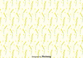 Mimosa Seamless Pattern Background