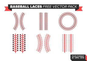 Baseball Laces Free Vector Pack