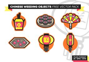 Chinese Wedding Free Vector Pack Vol. 2
