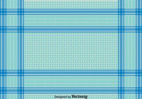 Blue Keffiyeh Seamless Pattern