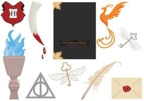 Free Hogwarts 2 Vectors