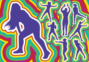 Zumba Dance Silhouette