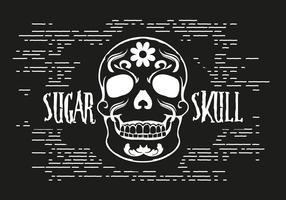 Free Sugar Skull Vector Illustration