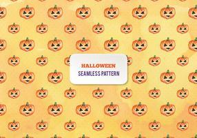 Free Vector Halloween Watercolor Pumpkins Pattern