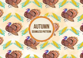 Vector Autumn Thanksgiving Background