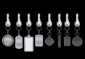 Keychains Vector Pack