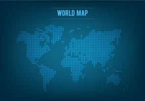 Free Vector Mosaic World Map