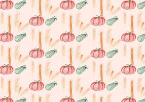 Vector Autumn Squash Background