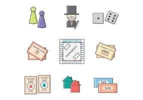 Free Monopoly Board Game Vector