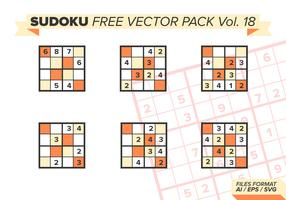 Sudoku Free Vector Pack Vol. 18