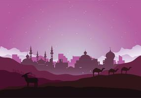 Free Arabian Night Illustration