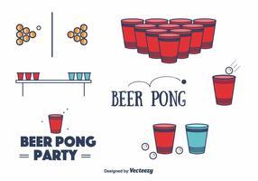 Free Beer Pong Vector
