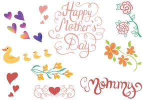 Free Mommy Vectors