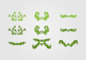 Acanthus Decorative Vector Art