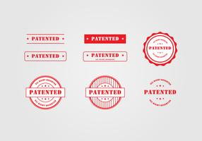 Patent Stamp Template