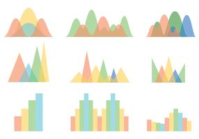 Free Bell Curve Icons Vector