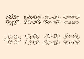 Free Scroll Swirly Vectors
