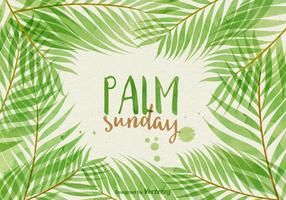 Palm Sunday Vector Illustration