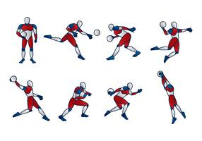 Handball Dummy Vector