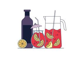 Free Sangria Vector