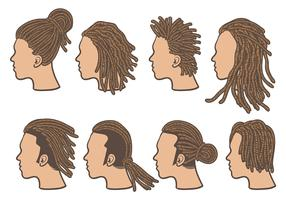 Free Dreads Icons Vector