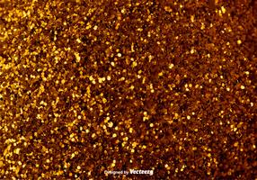 Elegant Golden Background - Vector Glowing Pixie Dust