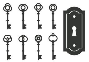 Classic Skeleton Key Vectors