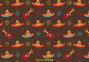 Festive Mexican Vector Background